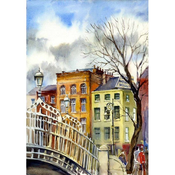 Ha'penny Bridge - Portrait